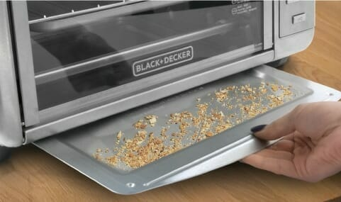 How to clean a toaster oven tray