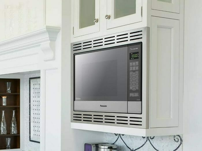 What is a built in microwave