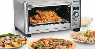 oven and food