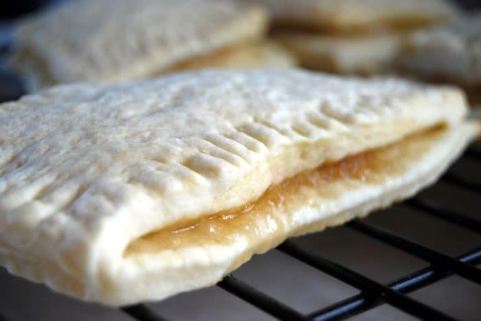 Toaster strudel in oven