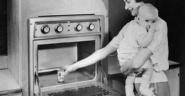 When did Microwave Ovens become Popular