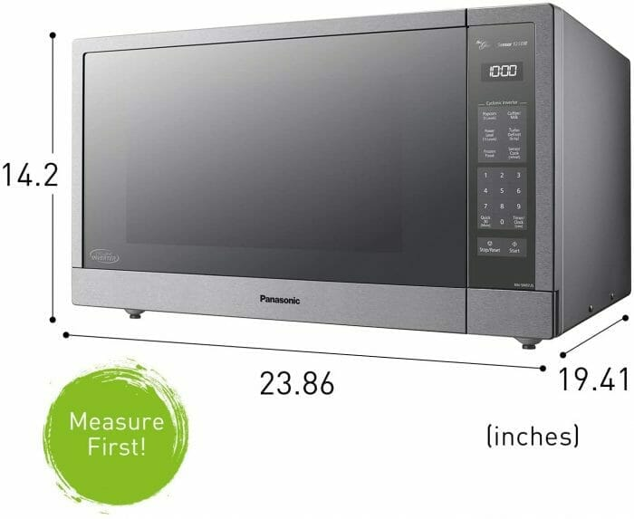 microwave under $300 size
