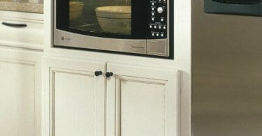 Can You Put a Countertop Microwave in a Cabinet